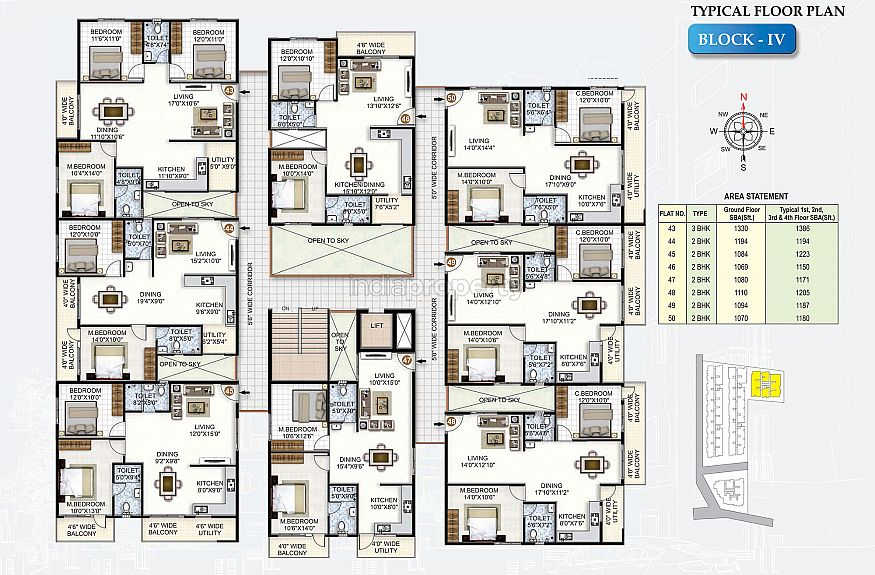Sls silicon valley in whitefield bangalore east by sls for Trademark quality homes floor plans