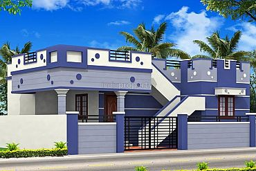 Lacs 2 bhk independent house villa for sale in for Individual house model pictures