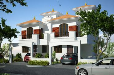 Amazze green park in urapakkam 2 2 5 3 3 5 4 bhk for Greenpark villas 2 malagasang
